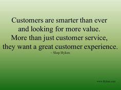 Customer Service/Business Saying
