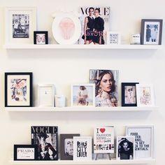 Photos and magazines Scandinavian Style, Interior Inspiration, Design Inspiration, Wall Decor, Room Decor, Roomspiration, Photo Diary, Room Organization, Home Bedroom