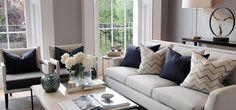 Th2 Designs stunning decorating ideas! Interior design ideas Luxury Living Room Modern Living Room Ideas #homedecorideas #modernlivingroomdesign #luxuryinteriordesign Find more in: https://www.brabbu.com/en/inspiration-and-ideas/