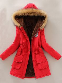 Korean Vogue Cute Hooded Cotton Coat
