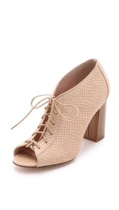 Kate Spade New York Women's Inella Lace Up Booties, Desert, 10 B(M) US. Cowhide.