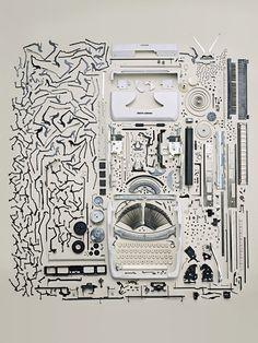 photos of disassemble retro stuff