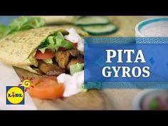 Pita Gyros - Recetas Griegas - YouTube