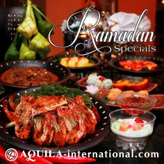 Grand Aquila will be offering diners with abundant of mouth-watering spread of Ramadan Buffet Dinner at Café Pasteur from 28th June till 27th July 2014. With over 20 types of dishes each day ranging from refreshing appetizers to satisfying desserts, diners will be spoilt for choice. What's more, this is the best time for family and friends to come together..