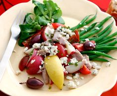 Castello Warm Potato Salad with Green Beans and Blue Cheese #aloveaffairwithcheese