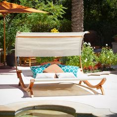 The Marrakech Sunbed With Canopy Is A Perfect Relaxation Getaway And Can Be  As Close As