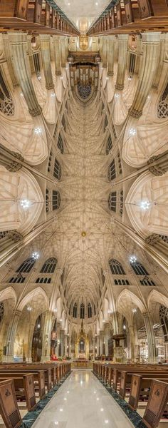 "Beautiful ""Vertical church"" style photos of St. Patrick's by Richard Silver Photo"