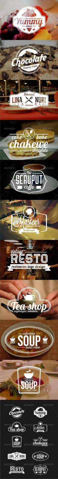 10 Badges-Logo 01  #GraphicRiver         -100% vector -AI,EPS files -Resizable…