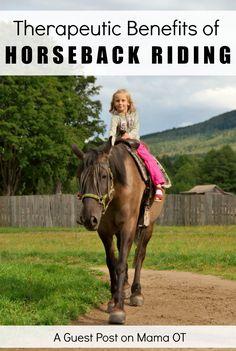 Therapeutic Benefits of Horseback Riding