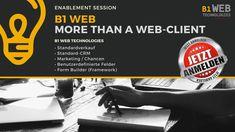 B1 WEB Client für SAP Business One - Enablement Session; Infos, Termine und Anmeldung: