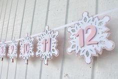 Girl Birthday Themes, First Birthday Banners, First Birthday Parties, Birthday Decorations, First Birthdays, Birthday Ideas, Winter Birthday Themes, Winter Onederland Party Girl 1st Birthdays, Winter Wonderland Birthday