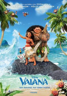 VAIANA - The new Disney animation movie, about an adventurous, tenacious and compassionate girl, who sails out on a daring mission to save her people. Picture (c) Disney 2016 Disney Films, Disney Animated Movies, Cartoon Movies, Disney And Dreamworks, Disney Pixar, Hd Movies, Watch Movies, Moana Disney, Walt Disney