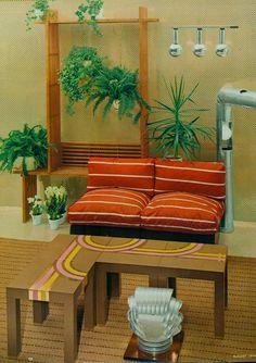 Decoração Descolada dos Anos 60 e 70 - Design Innova
