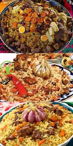 Secrets of delicious pilaf! Plus a phased utility . Russian Recipes, Turkish Recipes, Ethnic Recipes, Healthy Menu, Healthy Eating, Healthy Recipes, European Cuisine, Appetizer Recipes, Good Food
