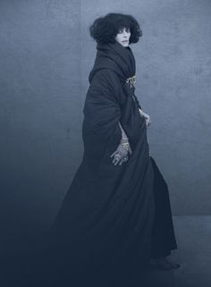 Tilda Swinton as Marchesa Luisa Casati.  Photograph by Paolo Roversi.  via silentstoryteller.typepad.com