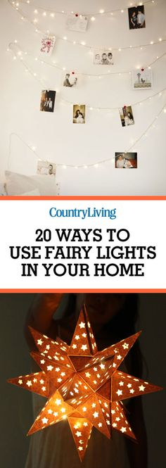 Glow and behold, a bevy of fresh new ways to decorate your home and fill it with fairy lights. Christmas Lights Garland, White Christmas Lights, Light Garland, Christmas Bulbs, Christmas Crafts, Christmas Decorations, Holiday Decor, Christmas Ideas, Merry Christmas