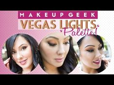 3 Looks using the Vegas Lights Palette | Makeup Geek
