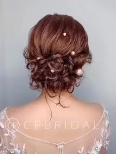 Curly Updos For Medium Hair, Curly Hair Updo Wedding, Hair Tutorials For Medium Hair, Up Dos For Medium Hair, Short Hair Updo, Curly Hair Styles, Natural Hair Styles, Easy Curly Updo, Pageant Hair Updo
