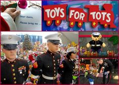 Give to Toys for Tots this Christmas. We love our Marines and all who give to this great program. We also love all who give to our Marines...by donating blood or platelets with the ASBP. #donateblood #toysfortots #militaryblood