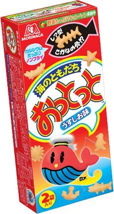 Morinaga Ottotto snack crackers