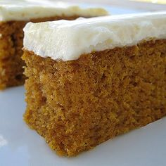 Pumpkin Bars - Click for Recipe