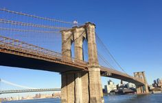Walk the BK Bridge the next time you want to venture into Brooklyn, to take advantage of the views & weather! Lower Manhattan, Brooklyn Bridge, Weather, Explore, Travel, Viajes, Destinations, Traveling, Trips