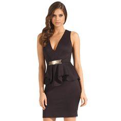 New design ruffles peplum dress Fashion Elegant ladies' office dresses sexy club…