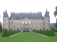 chateau de Vaudigny (Lorraine, France) -