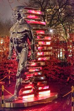 Amsterdam Light Festival. #Amsterdam #Lights #Modernart