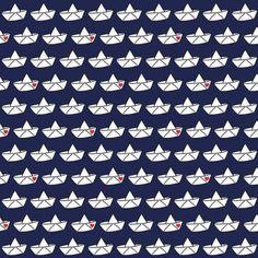Jersey Love Boat by cherry picking  dunkelblau von JaVi-Stoffe auf DaWanda.com Love Boat, Etsy, Shower, Prints, Dark Teal, Rain Shower Heads, Showers