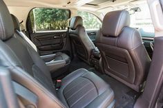 2016 gmc acadia denali mid size luxury suv with fold flat second and third row seats autos i. Black Bedroom Furniture Sets. Home Design Ideas