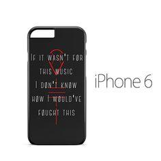 Twenty One Pilots lane Boy Lyric iPhone 6 Case