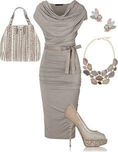"""Neutral elegance"" by claudia-anaya on Polyvore"