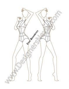 Female Fashion Coquis Template V41 Three-Quarter Side Pose