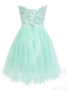 Sweetheart  Beading Bodice Tulle Short  Mini Homecoming Cocktail Dress homecoming dresses