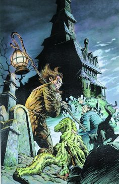 Bernie Wrightson: Welcome Back to the House of Mystery