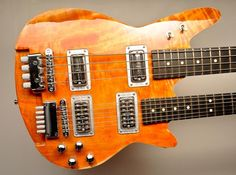 Lospennato Electric Guitars | Radiostar headless double-neck