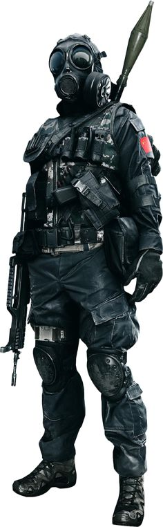Battlefield 4 - Soldier Render By Ashish Kumar
