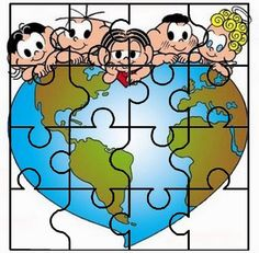 puzzle Earth Day Activities, Preschool Activities, Earth Day Coloring Pages, Contexto Social, Arabic Alphabet For Kids, School Decorations, Kindergarten Worksheets, Classroom Themes, Creative Crafts