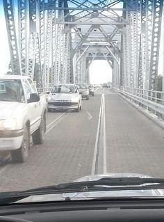 Puente en Viedma, Argentina