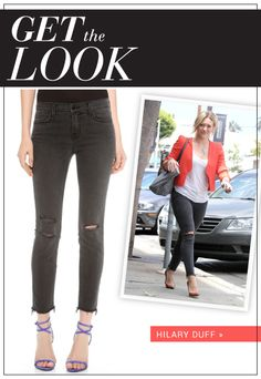 Get Hilary Duff's Look on SHEfinds.com
