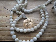 Sacred Stag of Avalon, sacred stag mala, stag mala, magickal mala, wicca mala, pagan mala, totem mala, stag prayer beads, magic prayer beads by MagickAlive on Etsy