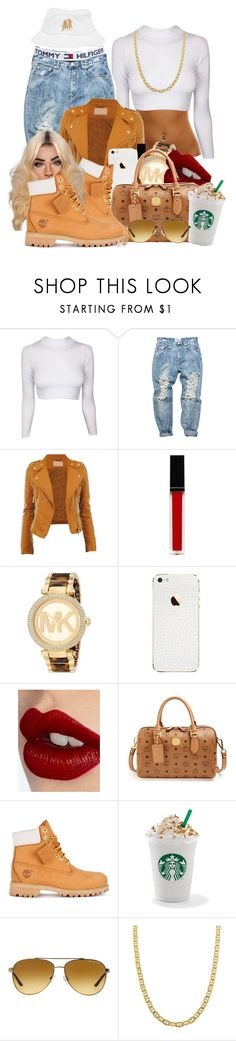 """""""Hold yuh"""" Gyptian ft nicki minaj"""" by loyalartist607 ❤ liked on Polyvore featuring Tommy Hilfiger, OneTeaspoon, CO, Witchery, Michael Kors, Charlotte Tilbury, MCM, Timberland, Fremada and Breezy Excursion"""