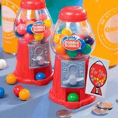 Mini Gumball Machine Baby Shower Favor!