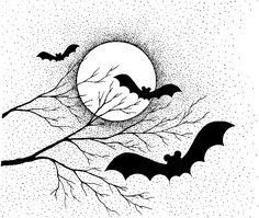 летучая мышь рисунок — Рамблер/картинки