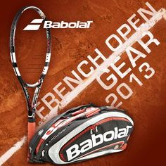 Brand new Babolat French Open racquets, bags and more are now available!