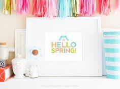 Libre para imprimir Primavera Wall Art
