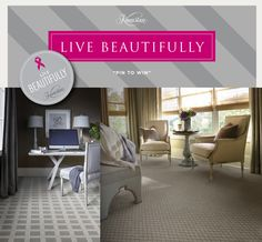 Karastan Live Beautifully Pin to Win Contest  Brought to you by: ABBEY CARPET & FLOOR  California's premiere provider of luxury flooring.  #luxuryflooring #luxuryfloors