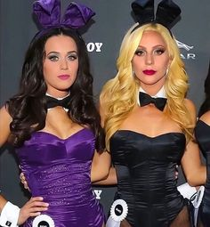 Katy Perry & Lady Gaga got Bunny Fever Disfraz Katy Perry, Gorgeous Ladies Of Wrestling, Playboy Bunny Costume, Katy Perry Pictures, Lady Gaga Photos, Halloween Disfraces, Beyonce, Rihanna, Cultura Pop
