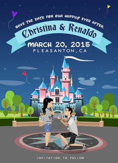 Disney save the dates!